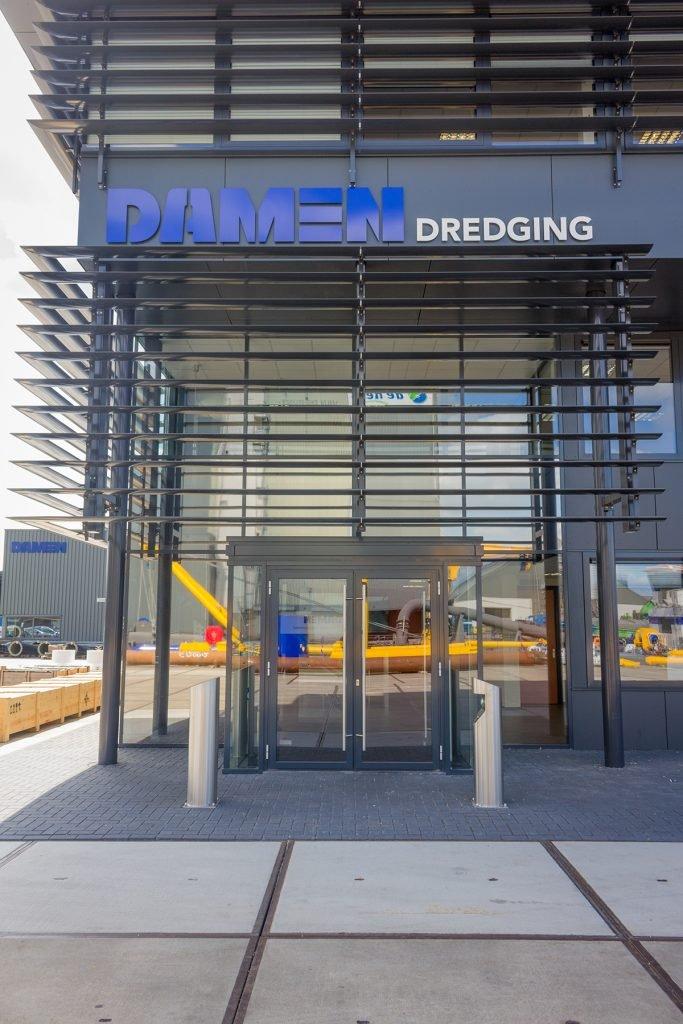 Aluvo aluminium kozijnen Damen dredging equipment Nijkerk