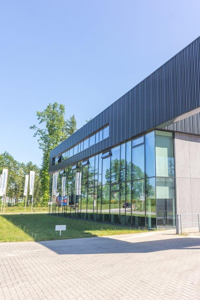 Aluvo aluminium vliesgevels futurumshop Apeldoorn