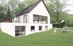 Aluminium schuifpuin kozijnen nieuwbouwwoning Zwolle
