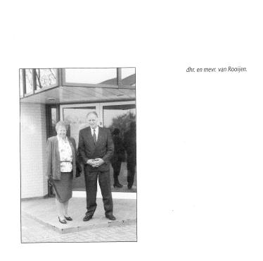 De heer en Mevrouw Van Rooijen